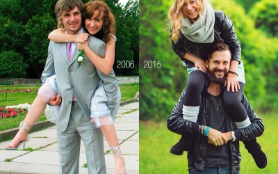 My first ever wedding shooting or 2006 vs. 2015