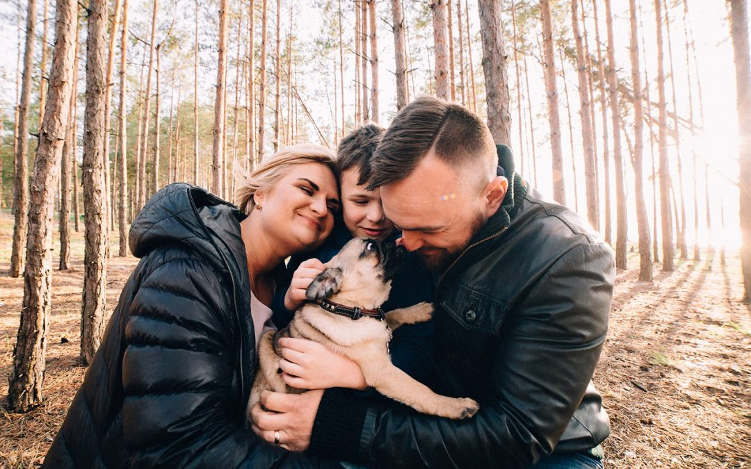 Vitalina & Sergey – Family photo shoot at the Kiev Sea