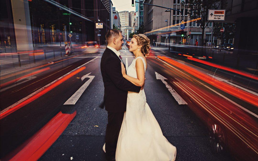 Hochzeitsfotos von Swetlana & Sergej in Frankfurt