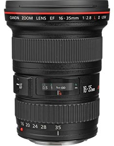 wedding photography lenses - canon 16 - 35