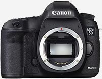 wedding photography cameras - canon 5D mark III