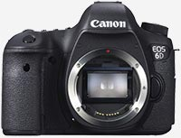 wedding photography cameras - canon 6D