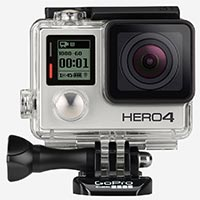 wedding photography cameras - goPro hero 4