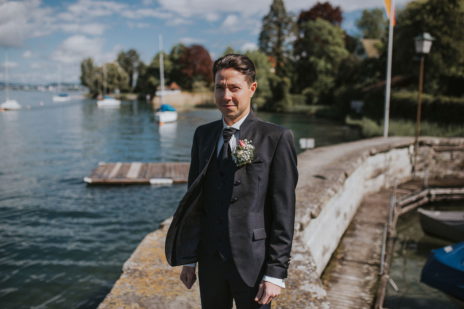 wedding photographer in Küsnacht Zurich
