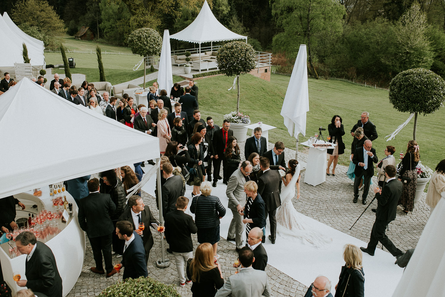 Wedding at Hoher Darsberg